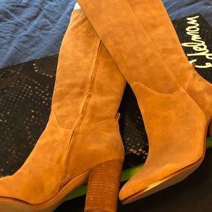 Sam Edelman Camellia Tall Boot - Camel